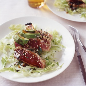 Five-Spiced Sesame Tuna and Avocado